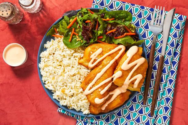 Quick meals - Flaky Tempura Tilapia