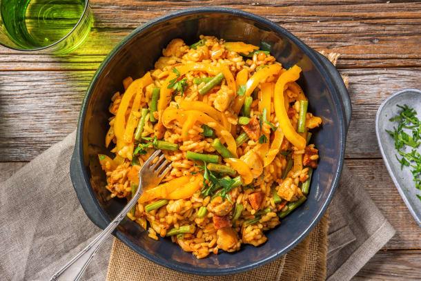 Fragrant Spanish Style Rice