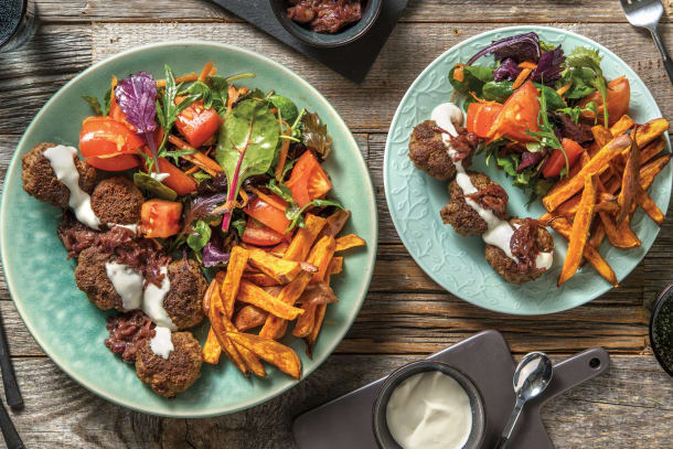 Garlic & Herb Parmesan Beef Rissoles