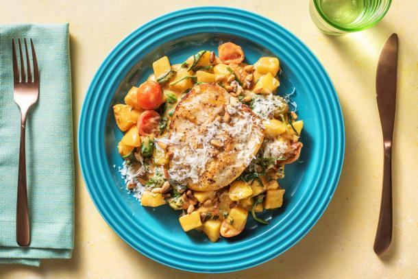 Gesunde Gerichte - Gebratene Hähnchenbrust