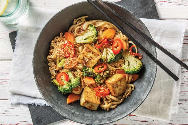 Ginger-Soy Tofu & Broccoli