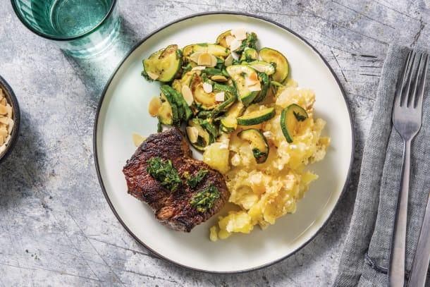 Greek Lamb Steaks