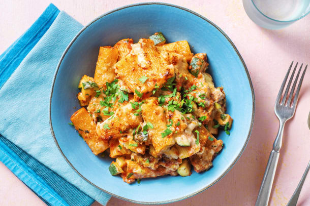 Greek Pastitsio Sausage and Pasta Bake