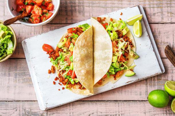 Ground Pork Carnitas Tacos