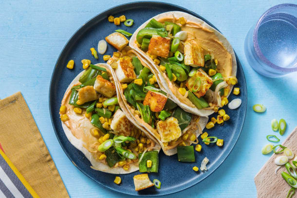 Quick Meals - Halloumi, Pepper and Sweetcorn Tacos