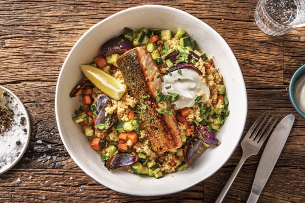Quick Meals - Honey & Mint Glazed Salmon