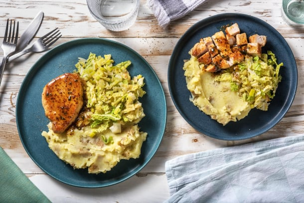 Low Calorie Meals - Honey Mustard Glazed Pork