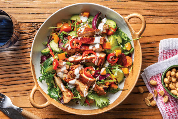 Low Calorie Meals - Honey-Soy Chicken Salad
