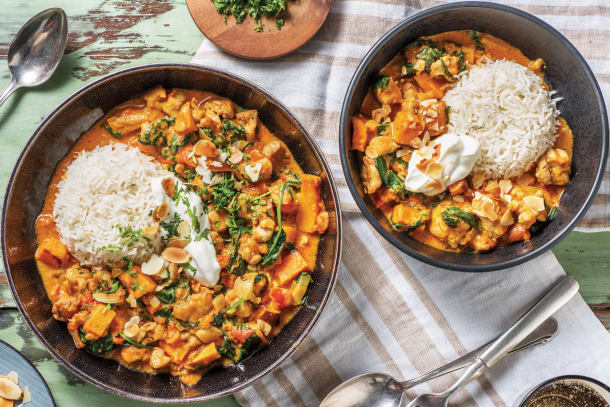 Indian Chicken & Sweet Potato Curry