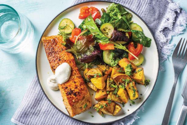 Indian Salmon & Bombay Potatoes