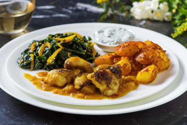 Low Calorie Meals - Mango Glazed Monkfish