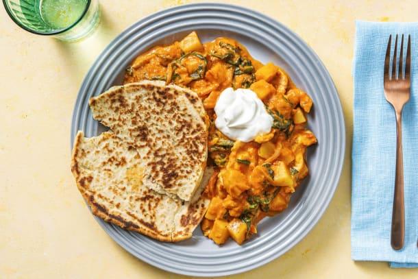 Schnelle Gerichte - Indisches Hähnchen-Tikka-Curry