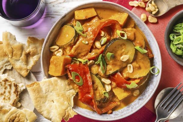 Schnelle Gerichte - Veganes Süßkartoffelcurry