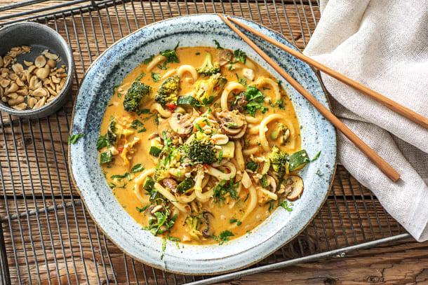 Snelle gerechten - Indonesische curry-noedelsoep