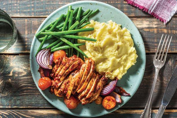 Low Calorie Meals - Italian Chicken Tray Bake