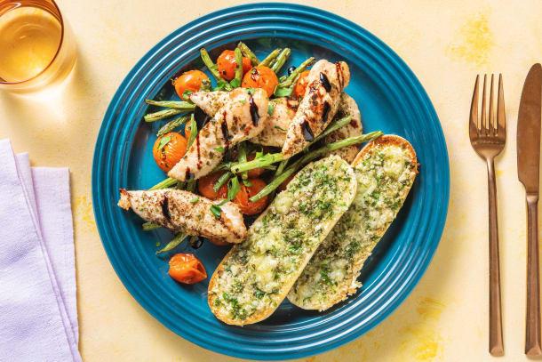 Italian Sheet Pan Chicken Dinner