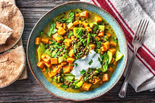 Klassieke Indiase curry met yoghurt