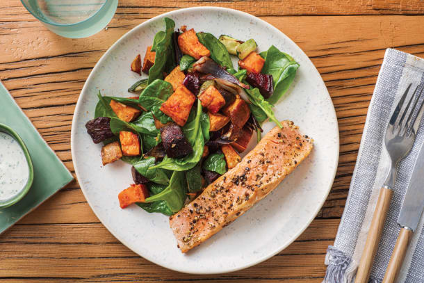 Quick Meals - Lemon Pepper Salmon
