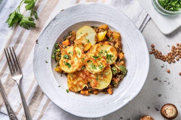 Lentil & Vegetable Hotpot