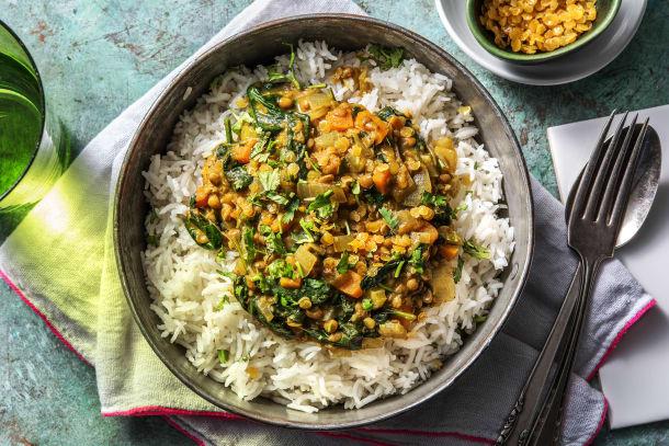Quick Dinner Ideas - Lentil-Veggie Mulligatawny