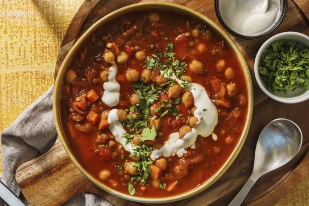 Hälsosamma Recept - Marockansk linssoppa