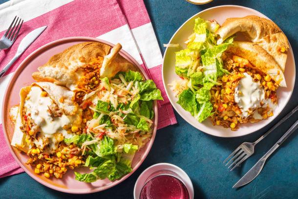 Mexikansk-kryddad köttfärspaj