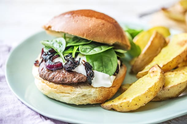Moroccan Inspired Beef Burgers