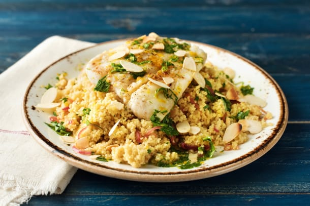 Moroccan Spiced Cod Parcel
