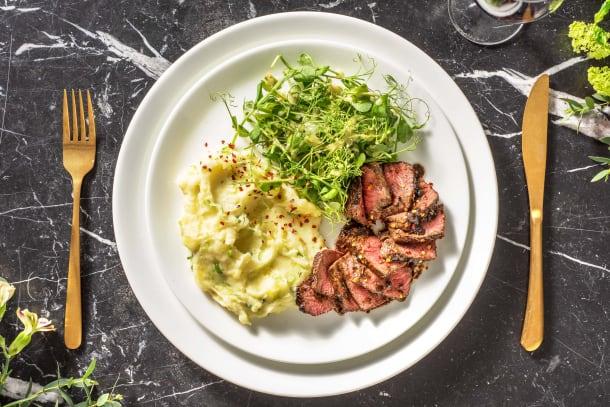 Quick Meals - Pan-Fried Sirloin Steak