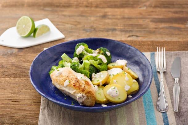 Pan Seared Garlic Chicken
