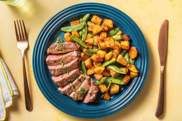Quick Dinner Ideas - Pan-seared Steak and Garlic Butter