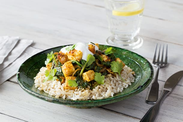 Paneer and Spinach Curry