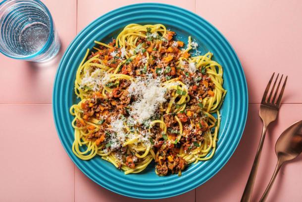 Schnelle Gerichte - Pasta Bolognese