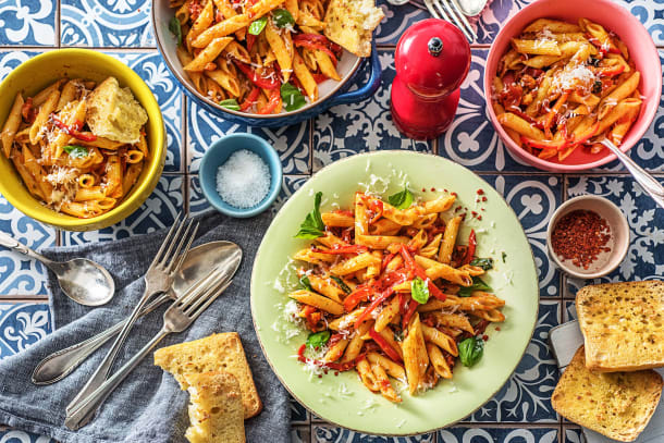 Food For Thought - Penne All'Arrabiata