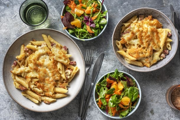 Snabba Middagstips - Penne'n cheese