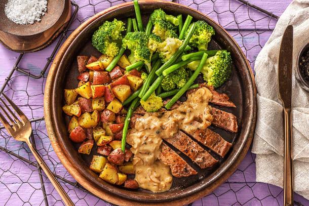 Pan Fried Pork Steak