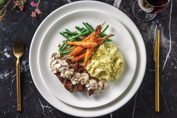 Premium Fillet Steak & Chive Mashed Potato