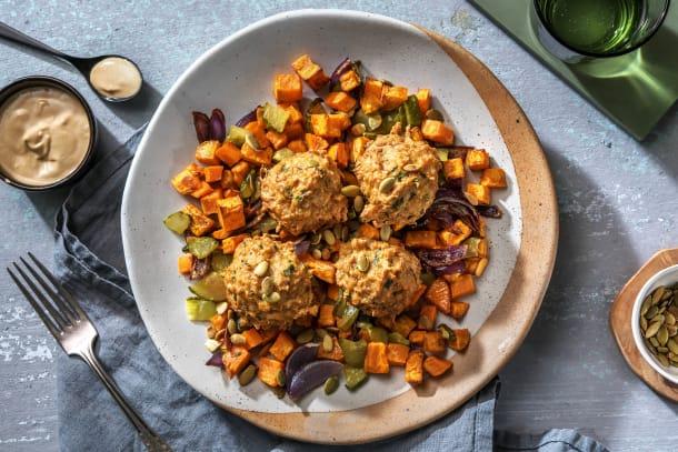 Hälsosamma Recept - Kycklingbullar med dukkah