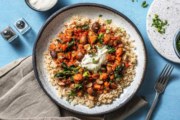 Hälsosamma Recept - Vegetarisk harissagryta