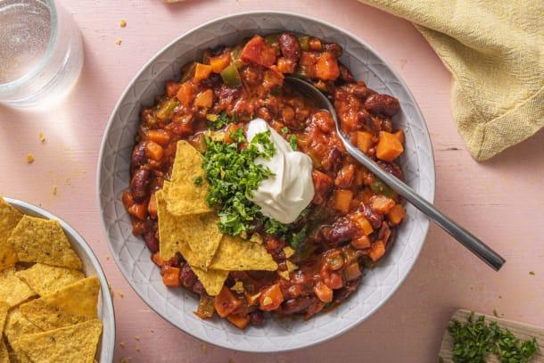 Hälsosamma Recept - Chili sin carne