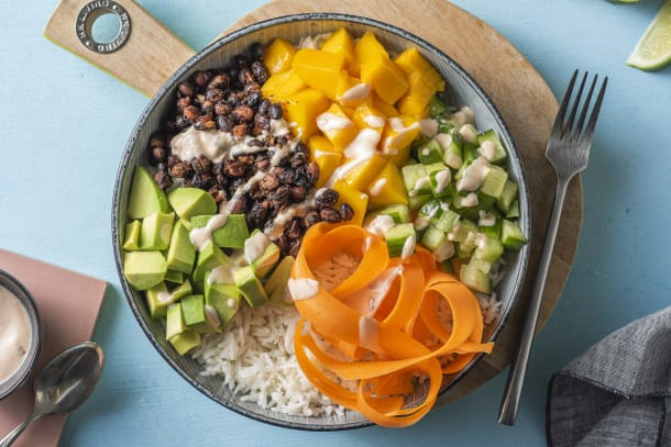 Snabba Middagstips - Vegetarisk poké bowl