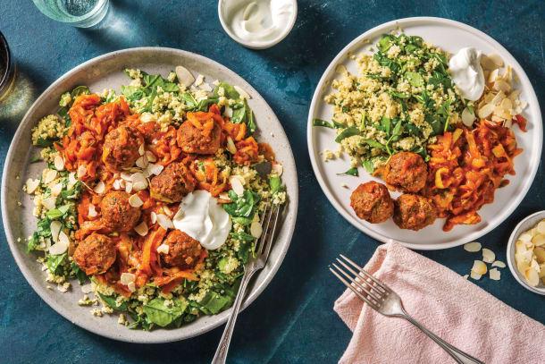 Family favourites - Ras El Hanout Beef Meatballs