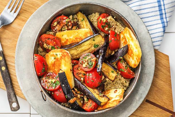 Vegetarian Recipes - Roasted Aubergine