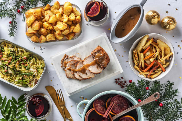 Roasted Pork and Mulled Wine Spices