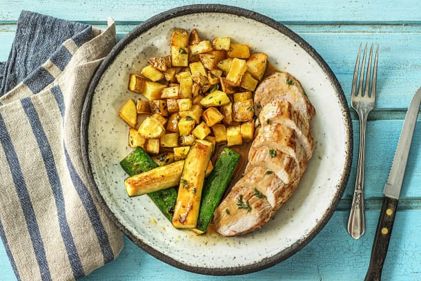 Roasted Pork and Potatoes