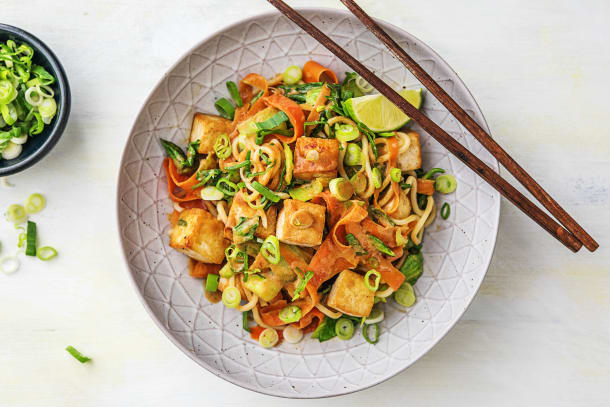 Satay Tofu Noodle