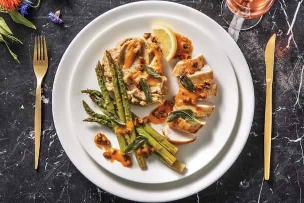 Seared Chicken & Black Garlic Mash