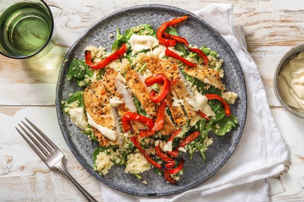 Hälsosamma Recept - Sesam- och vitlöksmarinerad kyckling