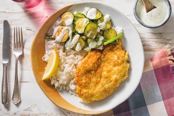 Snabba Middagstips - Sesampanerad kycklingfilé