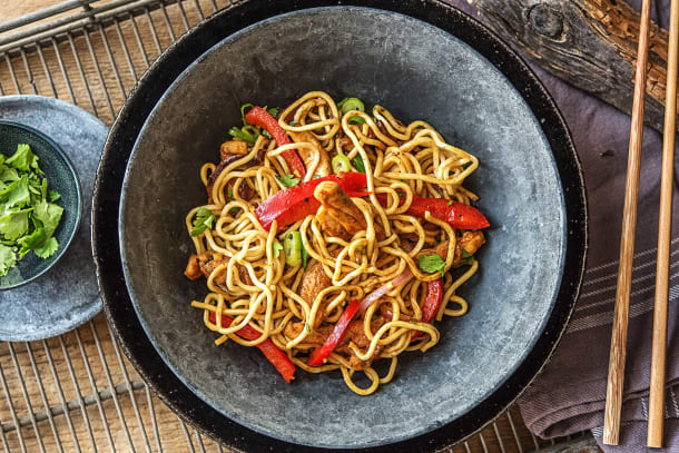Shanghai Chicken Stir-Fry